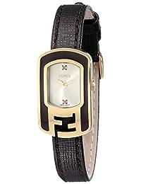 Fendi Women's F312425021D1 Chameleon Analog Display Quartz Brown Watch