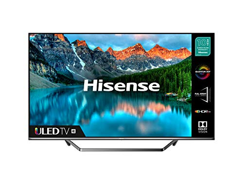 HISENSE 55U7QFTUK Quantum Series 55-inch 4K UHD HDR Smart TV with Freeview play, and Alexa Built-in (2020 series…