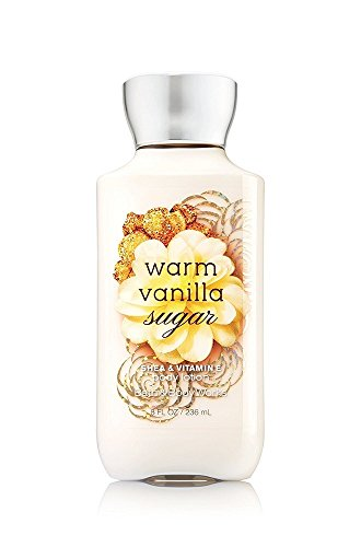 Price comparison product image Bath & Body Works Shea and Vitamin E Body Lotion, Warm Vanilla Sugar, 8 Ounce