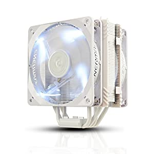 ENERMAX side-flow CPU cooler ETS-T40Fit-W White Cluster