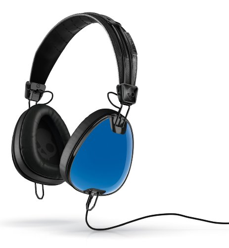 Price comparison product image Skullcandy Aviator Headphones Mic 3 (Royal Blue/Black)