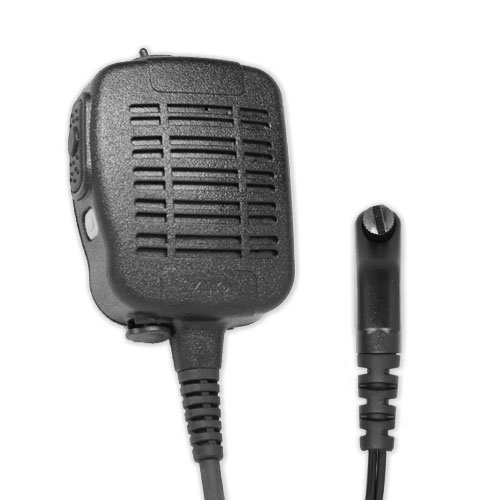 ARC S51031 Heavy Duty Anti-Magnetic Speaker Shoulder Microphone for Icom F Series Radios (See List) by ARC