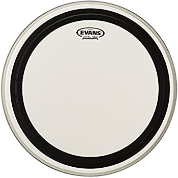 evans emad clear bass drum head 18 inch musical instruments. Black Bedroom Furniture Sets. Home Design Ideas