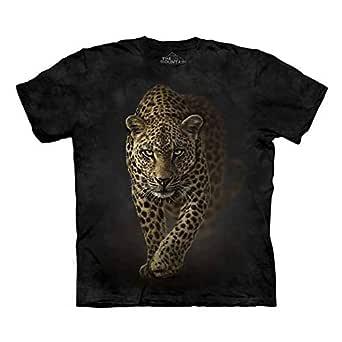 The Mountain Black Round Neck T-Shirt For Men