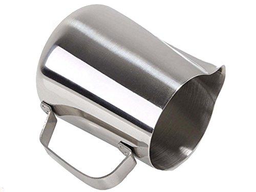 Tosnail Milchkännchen /Aufschäumkännchen aus Edelstahl 350ml