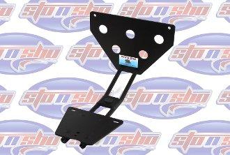 - C6 Corvette Sto N Sho Removable Licence Plate Frame