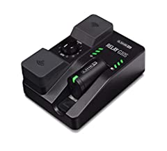 The Relay G10S guitar wireless system is as powerful as it is compact. The stompbox-sized pedal offers professional features, rugged build quality, and plug-and-play operation at an easily affordable price. The Relay G10S system integrates se...
