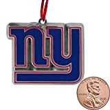 Final Touch Gifts York Giants Christmas Ornament