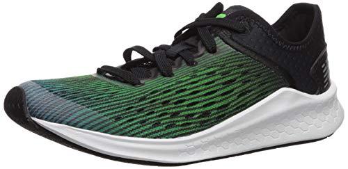 New Balance Boys' Fast V1 Running Shoe, DEEP Ozone Blue/RGB Green/Black, 7 M US Big Kid ()