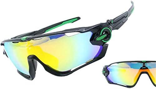 AFCITY Gafas De Sol Mujer Hombre Ciclismo Gafas Cuatro Juegos de ...