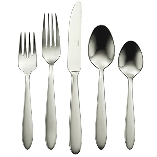 Oneida Mooncrest 45-Piece Flatware Set, Service for - Silver Spa Mirror