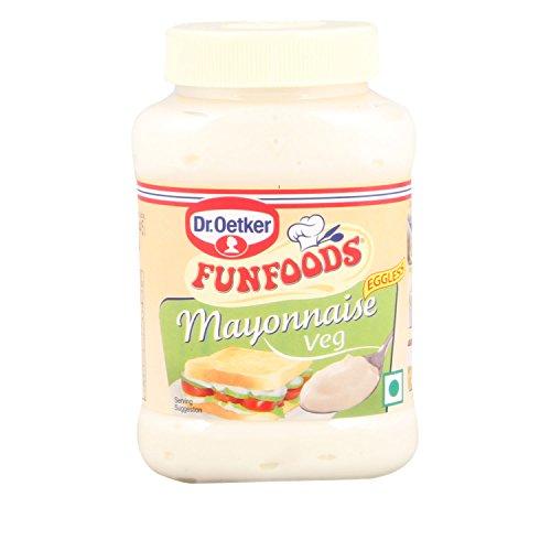 FunFoods - Mayonnaise, 275g Bottle - Veg - Eggless - India