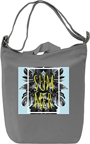 Summer Borsa Giornaliera Canvas Canvas Day Bag| 100% Premium Cotton Canvas| DTG Printing|