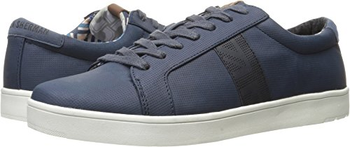 Ben Sherman Men's Ashton Fashion Sneaker, Navy, 10 M - Sherman Fashion