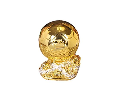 Drivworld Resin Crafts Golden Boot Awards Trophy Gold Shoes Cup Football Trophy Resin Craft Gifts Fans Souvenirs (Football)