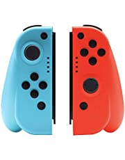 Mainstayae Gamepad Compatible with Nintendo Switch Joy-Con Controller L/R Wireless Joysticks Switch Controllers Accessories