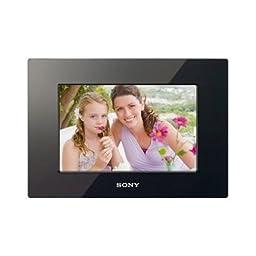 Sony DPF-D710 7-Inch WVGA LCD (16:10) Digital Photo Frame (Black)
