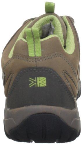 Karrimor Storm Ladies Weathertite - Zapatos para caminar de cuero nobuck mujer Roots/Green