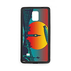Led Zeppelin Sunset Samsung Galaxy Note 4 Cell Phone Case Black GYK06337