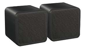 "E-audio 40W RMS Negro 4 ""Full Range Mini caja del altavoz"