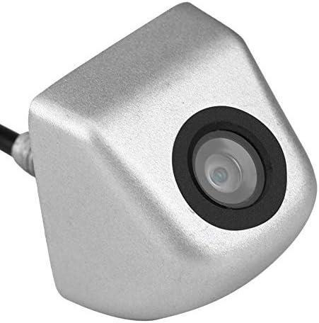 Okuguy 車CCDリアビューカメラのバックアップ駐車場ナイトビジョンバックミラーカメラ防水シルバー
