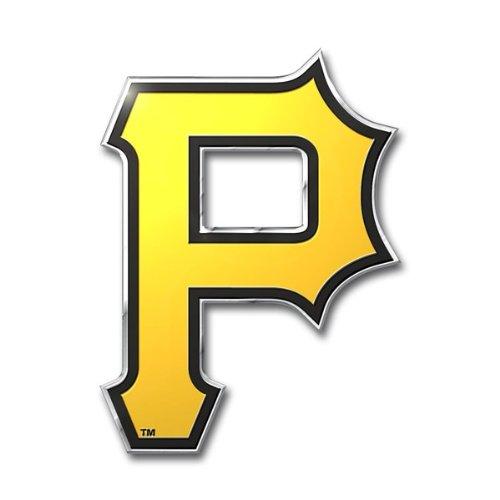 Die Pirate - MLB Pittsburgh Pirates Die Cut Color Automobile Emblem