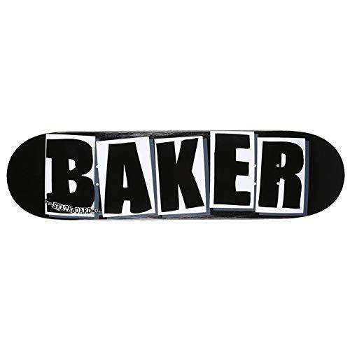 【驚きの値段で】 ベーカー (BAKER) BRAND B07R657N34 LOGO BLACK LOGO/WHITE 8.125 スケボー ベイカー スケートボード デッキ スケボー B07R657N34, ウチノミチョウ:dcf582bd --- domaska.lt