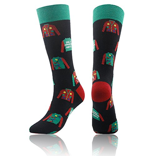 Casual Socks, Gmall Men's Crazy Cute Novelty Cotton Crew Funny Socks 1 Pair