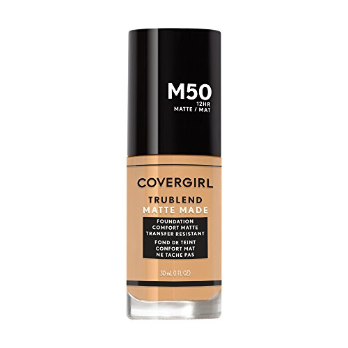 Covergirl Trublend Matte Made Liquid Foundation, M50 Soft Tan, 1.014 Ounce