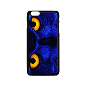 Blue owl aflame eyes Case for Iphone 6 by icecream design