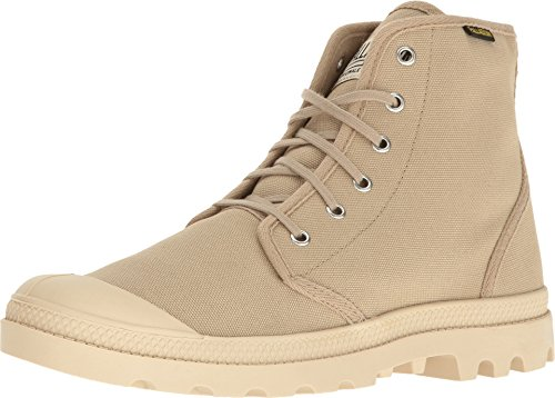 Pampa Originale Men's Boot Ecru Sahara Chukka Hi Palladium 6x5wt717