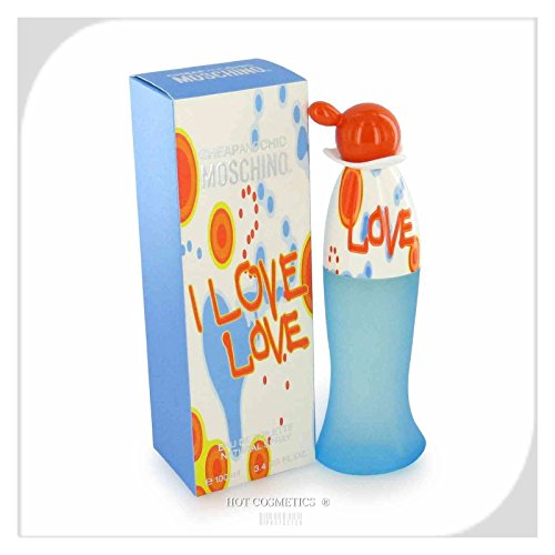 I Love Love For Women. Eau De Toilette Spray 3.4 Ounces