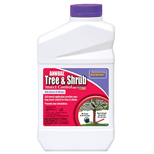 - BONIDE PRODUCTS INC 609 BND609 Tree/Shrub Drench Insecticide, Quart, 32 oz