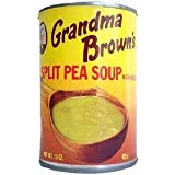 Grandma Brown's Split Pea Soup with Bacon - 15 oz can