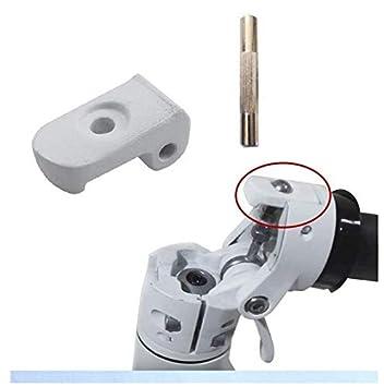Theoutlettablet® Reparación de Perno de bisagra Compatible con Patinete eléctrico Scooter Xiaomi MIJIA M365 Color Blanco