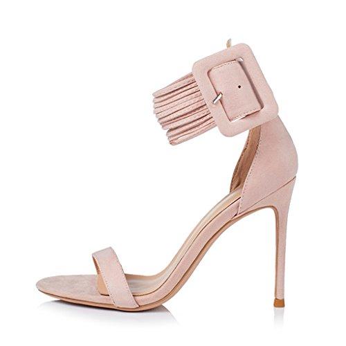10cm Sandaalit Kengät Piikkikorot Naisten Naisten Sandaalit XgAwqwEnR
