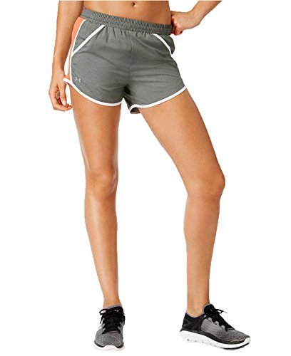 Under Armour Womens Loose Fit Running Shorts Gray M