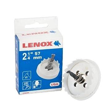 Lenox corona carburo - agujero cortador broca - 57 mm: Amazon.es: Bricolaje y herramientas