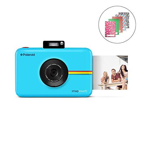 SNAR Touch 2.0 Polaroid SNP - 13MP قابل حمل فوری دوربین عکاسی دیجیتال w / صفحه نمایش لمسی داخلی ، آبی