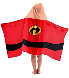 Disney Pixar The Incredibles Jack-Jack Cotton Hooded Bath/Pool/Beach Towel