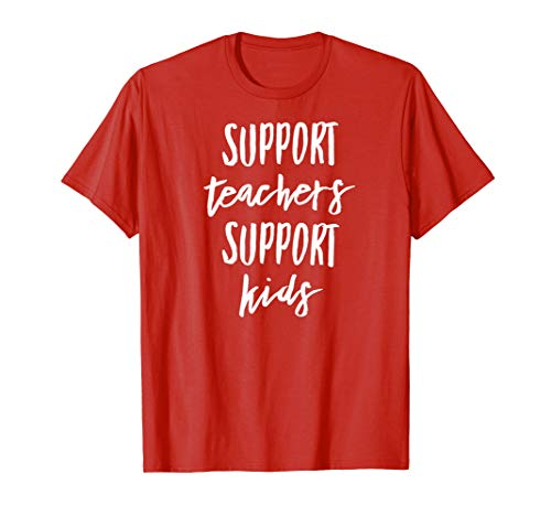 Support Teachers and Kids Washington Red For Ed Shirt