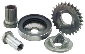 Bikers Choice Replacement 1in. Extended Shaft Extension for Compensating Sprocket and Cover Kit 346210