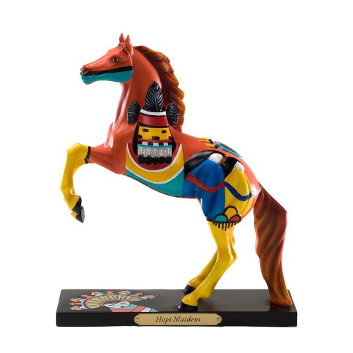 Enesco Trail of Painted Ponies from Hopi Maidens Figurine 8.25 in