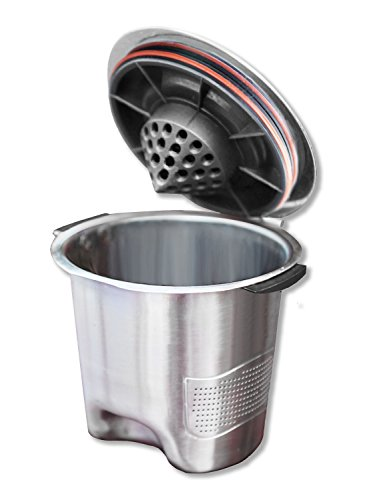 Ekobrew Stainless Steel Elite Cup, Refillable K-Cup For Keur