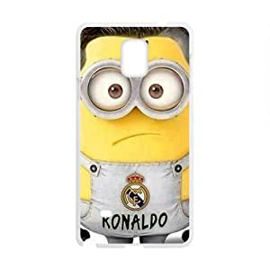 Custom Soccer Player Real Madrid CR7 Ronaldo Case Cover for Samsung Galaxy Note 4