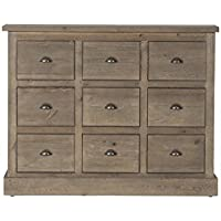 Flamant Larsson Sideboard, Weathered Pine