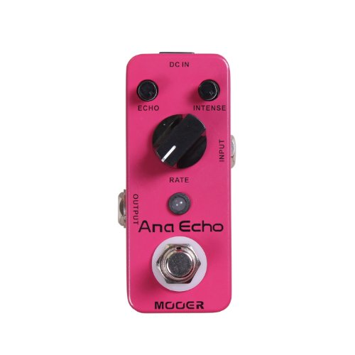 Mooer Ana Echo, analog delay micro pedal by MOOER