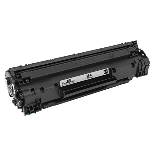 Speedy Inks - Compatible Replacement for HP 36A CB436A Black Toner for use in LaserJet M1522n MFP, LaserJet M1522nf MFP, LaserJet P1505, & LaserJet P1505n