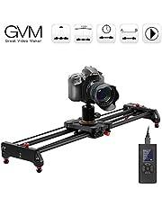 GVM Kamera Slider Track Dolly Slider Schienensystem mit motorisierten Zeitraffer und Video Shot Follow Focus Shot und 120 Grad Panorama Shooting 80cm …