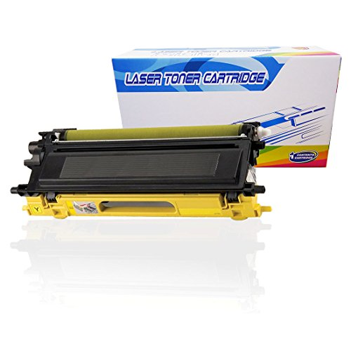 (Inktoneram Compatible Toner Cartridge Replacement for Brother TN-115 TN115 TN115Y DCP-9040CN DCP-9045CDN MFC-9440CN MFC-9450CDN MFC-9840CDW MFC-9870CDW HL-4040CDN HL4040CN HL4050CDN HL4070CDN (Yellow))